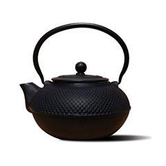 Old Dutch 52 Oz Matte Black Cast Iron Saga Teapot