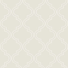 Quatrefoil Peel-and-Stick Wallpaper