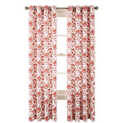 JCPenney Home™ Flora Grommet-Top Cotton Curtain Panel