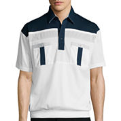 Palmland® Banded-Hem Polo