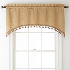 Royal Velvet® Georgia Rod-Pocket Arch Valance