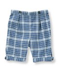 Plaid Twill Knicker