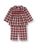 Smocked Plaid Pajama Set