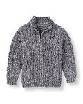 Marled Cable Sweater Cardigan
