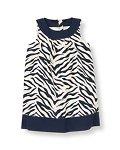 Zebra Dobby Dress