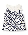 Bow Zebra Top