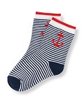 Anchor Striped Sock
