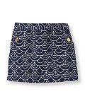 Geo Sailboat Print Skirt