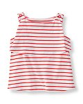 Tiered Striped Tank Top