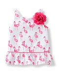 Flamingo Print Tank Top