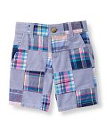 Patchwork Plaid Short