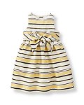 Shimmer Striped Dress