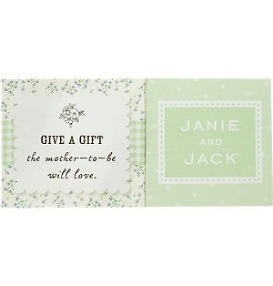 Complimentary Baby Shower Enclosure Cards