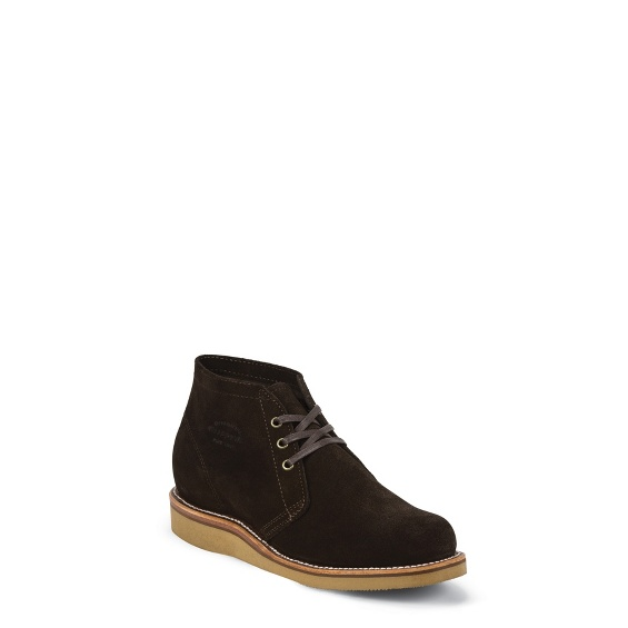 "Image for MEN'S 5"" MODERN SUBURBAN CHOCOLATE SUEDE SHOE ; Style# 1901G05"