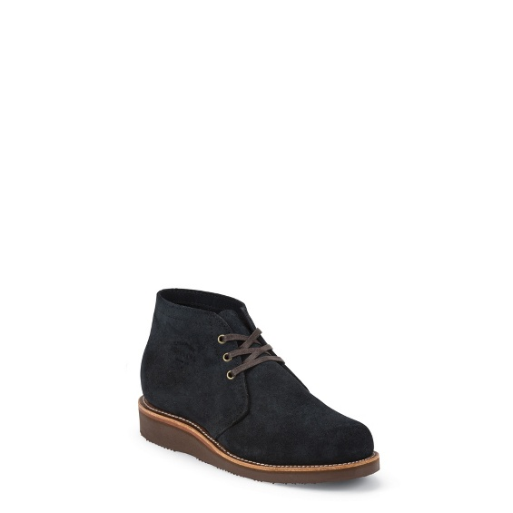 """Image for MEN'S 5"""" MODERN SUBURBAN NAVY SUEDE SHOE ; Style# 1901G07"""