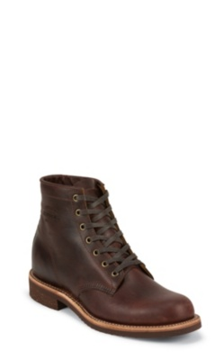 MEN'S 6inch CORDOVAN GENERAL UTILITY SERVICE BOOTS