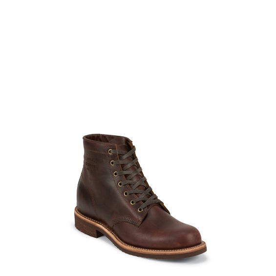 "Image for MEN'S 6"" CORDOVAN GENERAL UTILITY SERVICE BOOTS ; Style# 1901M25"