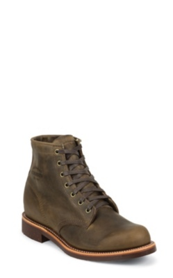 MEN'S 6inch CRAZY HORSE GENERAL UTILITY SERVICE BOOTS