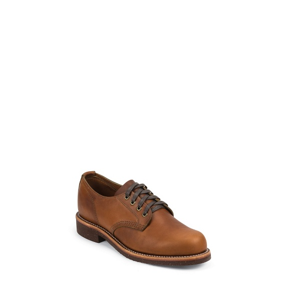 "Image for MEN'S 4"" TAN RENEGADE GENERAL UTILITY SERVICE OXFORD SHOE ; Style# 1901M78"