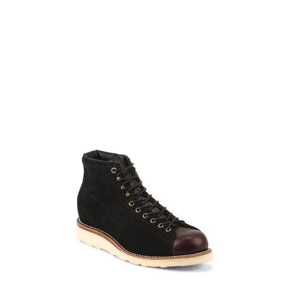 """Image for MEN'S 5"""" BLACK SUEDE GENERAL UTILITY BRIDGEMEN BOOTS ; Style# 1901M81"""