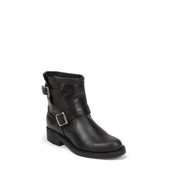 """Image for WOMEN'S 7"""" BLACK WHIRLWIND ORIGINAL ENGINEER BOOTS ; Style# 1901W11"""
