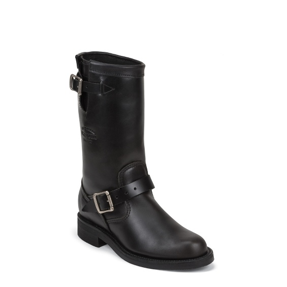 """Image for WOMEN'S 11"""" BLACK WHIRLWIND ORIGINAL ENGINEER BOOTS ; Style# 1901W14"""