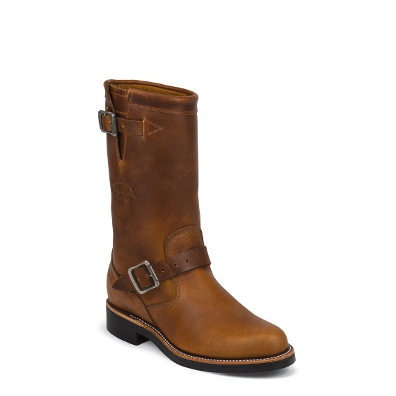 """Image for WOMEN'S 11"""" TAN RENEGADE ORIGINAL ENGINEER BOOTS ; Style# 1901W15"""