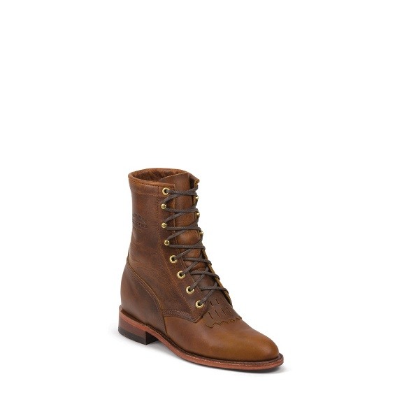 """Image for WOMEN'S 8"""" TAN RENEGADE ORIGINAL LACER BOOTS ; Style# 1901W65"""