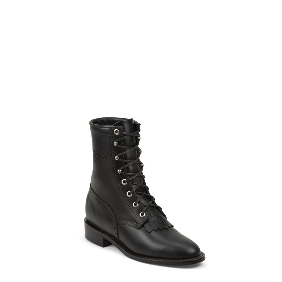 "Image for WOMEN'S 8"" BLACK WHIRLWIND ORIGINAL LACER BOOTS ; Style# 1901W66"