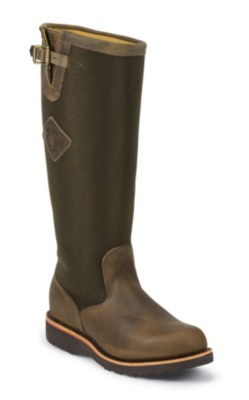 MEN'S 17inch BAY APACHE RUGGED OUTDOOR SNAKE BOOTS