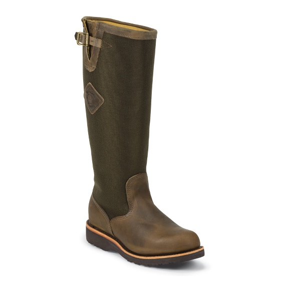 """Image for MEN'S 17"""" BAY APACHE RUGGED OUTDOOR SNAKE BOOTS ; Style# 23907"""