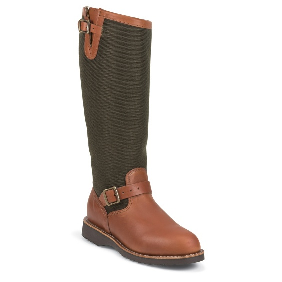 """Image for MEN'S 17"""" BROWN EXPRESSO/VIPER® CLOTH RUGGED OUTDOOR SNAKE BOOTS ; Style# 23913"""