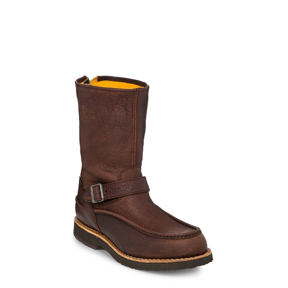 "Image for MEN'S 10"" WATERPROOF BRIAR MOCC TOE WITH BACK ZIPPER UPLAND RUGGED OUTDOOR BOOTS ; Style# 24948"