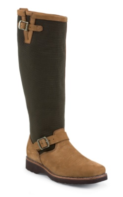 MEN'S 18inch AGED REGINA SQUARE TOE RUGGED OUTDOOR SNAKE BOOTS