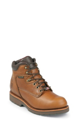 MEN'S 6inch TAN UTILITY RUGGED OUTDOOR BOOTS
