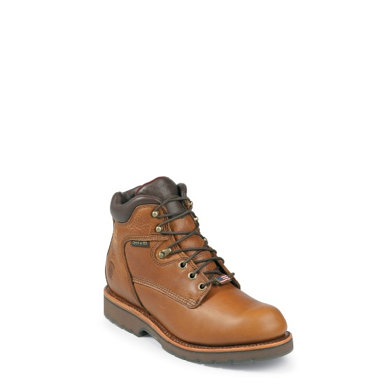 """Image for MEN'S 6"""" TAN UTILITY RUGGED OUTDOOR BOOTS ; Style# 25220"""