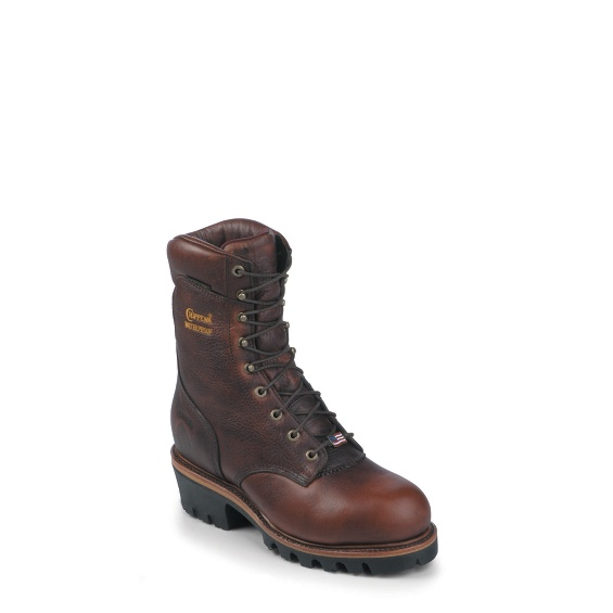 "Image for MEN'S 9"" BRIAR OILED LOGGER STEEL TOE RUGGED OUTDOOR BOOTS ; Style# 25420"