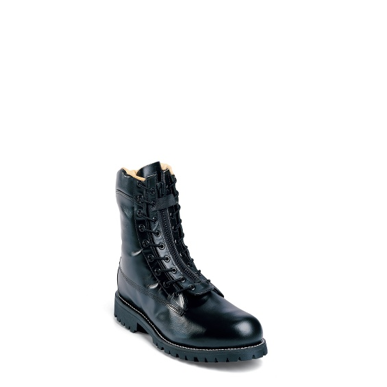 "Image for MEN'S 8"" BLACK POLISHABLE ENGINEER STEEL TOE RUGGED OUTDOOR BOOTS ; Style# 27422"