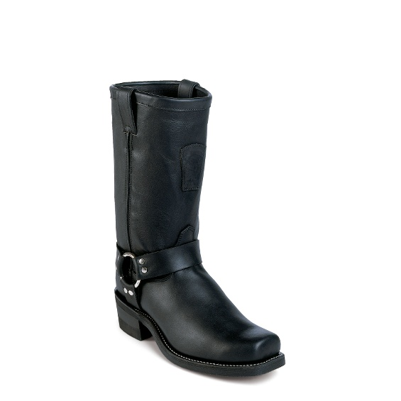 """Image for MEN'S 12"""" BLACK HARNESS RUGGED OUTDOOR BOOTS ; Style# 27868"""