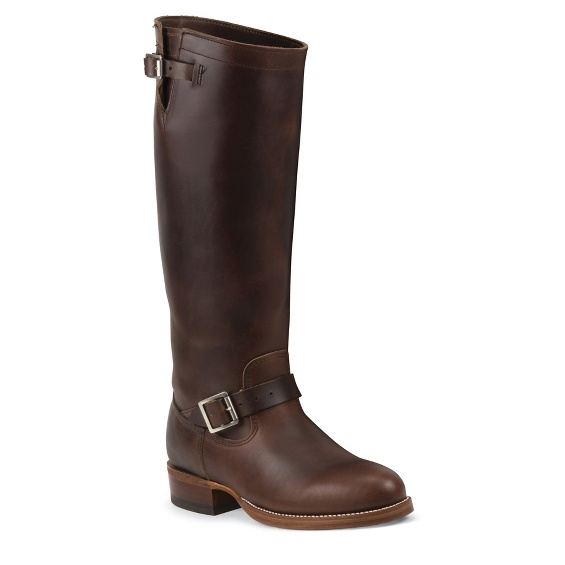 """Image for MEN'S 1937 17"""" THE ORIGINAL CHIPPEWA® ENGINEER CHOCOLATE BOOTS ; Style# 4578CHO"""