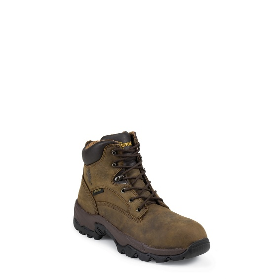 """Image for MEN'S 6"""" BAY APACHE UTILITY LACE UP RUGGED OUTDOOR BOOTS ; Style# 55160"""
