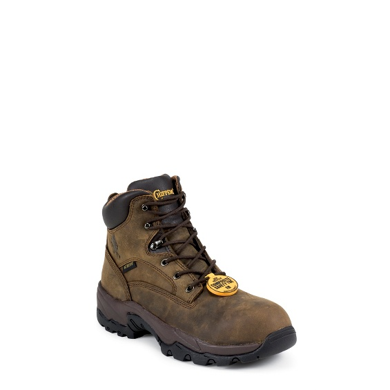 "Image for MEN'S 6"" BAY APACHE UTILITY COMPOSITION TOE LACE UP RUGGED OUTDOOR BOOTS ; Style# 55161"