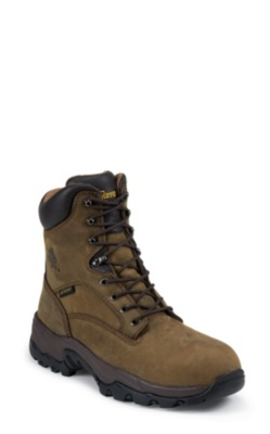 MEN'S 8inch BAY APACHE UTILITY COMPOSTION TOE LACE UP RUGGED OUTDOOR BOOTS