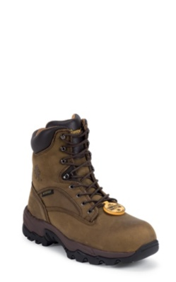 MEN'S 8inch BAY APACHE UTILITY INSULATED COMPOSTION TOE LACE UP RUGGED OUTDOOR BOOTS
