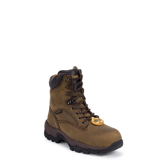 "Image for MEN'S 8"" BAY APACHE UTILITY INSULATED COMPOSTION TOE LACE UP RUGGED OUTDOOR BOOTS ; Style# 55168"