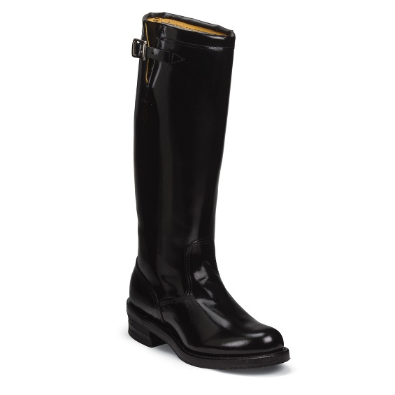"""Image for MEN'S 17"""" BLACK STRAPLESS RUGGED TROOPER BOOTS ; Style# 71419"""