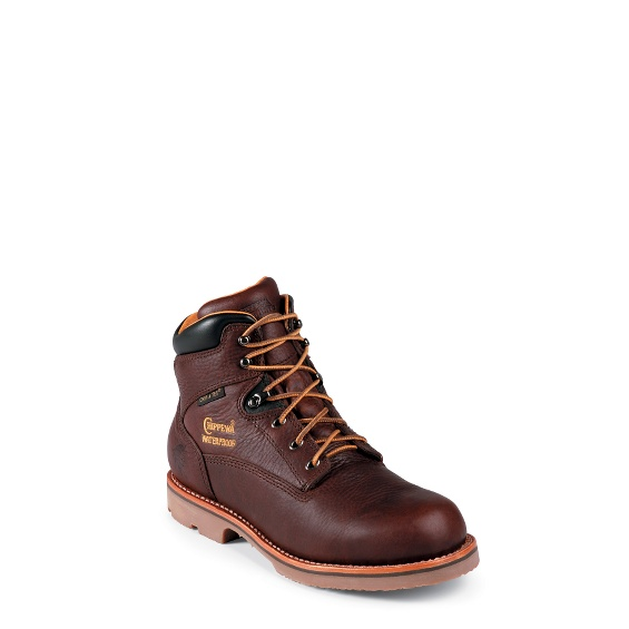 """Image for MEN'S 6"""" UTILITY WATERPROOF INSULATED RUGGED OUTDOOR WORK BOOTS ; Style# 72125"""