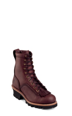 MEN'S 8inch REDWOOD LOGGER RUGGED OUTDOOR BOOTS