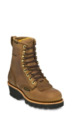 WOMEN'S 8inch BAY APACHE WATERPROOF INSULATED LOGGER BOOTS