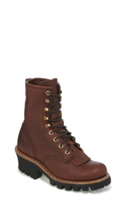WOMEN'S 8inch REDWOOD LOGGER BOOTS